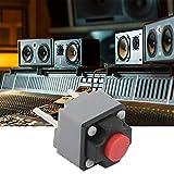 Oumefar Pulsador Interruptor Impermeable 6x6x7.3mm Interruptor de tacómetro para Equipo de Seguridad