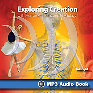 Exploring Creation with Human Anatomy and Physiology audiobook cover art