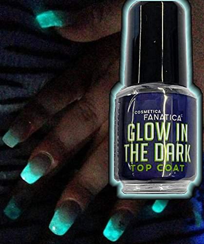 NACHLEUCHTENDER GLOW IN THE DARK-TOP-COAT Nagellack 5ml von Cosmetica Fanatica