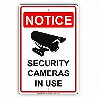 安全標識標識金属屋外装飾安全カメラ安全な警告標識