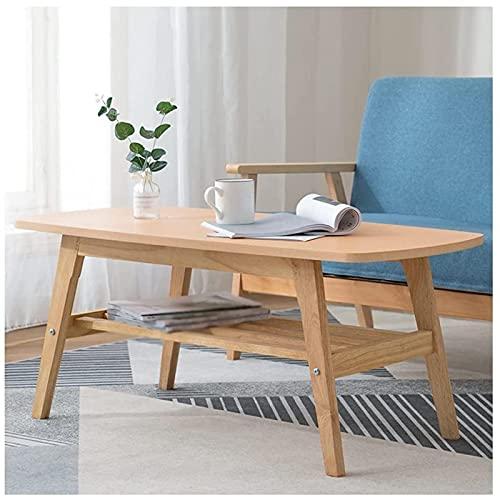 Mesa auxiliar del sofá, Mesitas de café Mesa de café simple Mesa de té industrial de oficina, adecuado para sala de estar. TELEVISOR Mesas de la mesa del cóctel de la familia del gabinete (Color: Beig