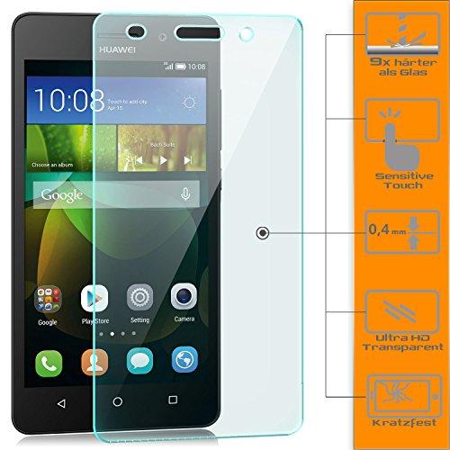 Saxonia Pellicola Protettiva Huawei G Play Mini Vetro Temperato Screen Protector Film Ultra Resistente | Proteggi Schermo 9H Durezza, HD alta Trasparente
