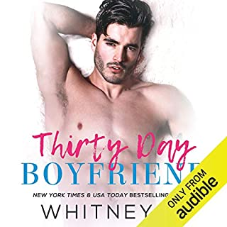 Thirty Day Boyfriend audiobook cover art