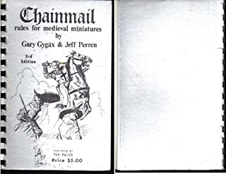 Chainmail: Rules for Medieval Miniatures (Dungeons and Dragons)