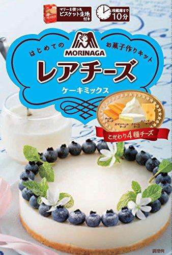 森永製菓 レアチーズケーキミックス 110g×5箱