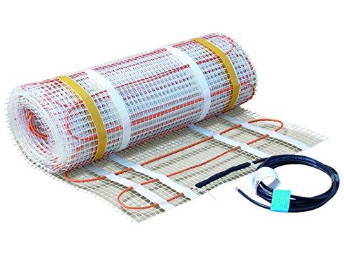 Fußbodenheizung / Heizmatte 160W/qm, 1,6x0,5m, ideal für Renovierung & Sanierung, Vitalheizung 060102
