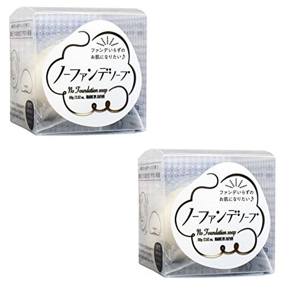 チーズ過度の物理学者【まとめ買い】ノーファンデソープ 80g【×2個】