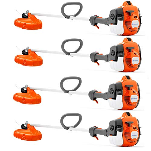 Best Deals! Husqvarna 322L 22.5cc 1.01HP Lightweight Trimmer (4 Pack)(Certified Refurbished)