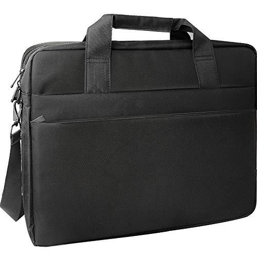 Gadom Laptop Bag, 16.4 Inch Waterproof Macbook Tablet Shoulder Bag Carrying Case Business Briefcase with Handles Shoulder Strap