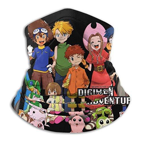 Xebcivso Bufanda de Tubo, Sombreros Resistentes, Digimon Anime, Deportes al Aire Libre, Calentador de Cuello, Diadema, BandaBalaclava