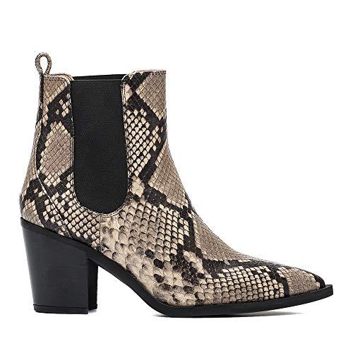 Unisa Damen Cowboy Stiefel Manila Chelsea Boots Mehrfarbig Gr. 38