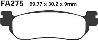 EBC Blackstuff Pastillas de freno (orgánicas) para Yamaha - RZ 50 - TW 125 - TW 200 - ST 225 - TW 225 - TW 225 - Serrow 250 - XG 250 - XT 250 - YZF-R6 - YZF R1