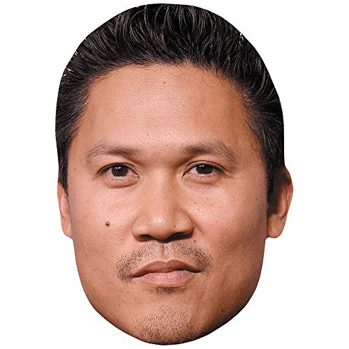 Dante Basco (Dark Hair) Celebrity Mask, Flat Card Face, Fancy Dress Mask