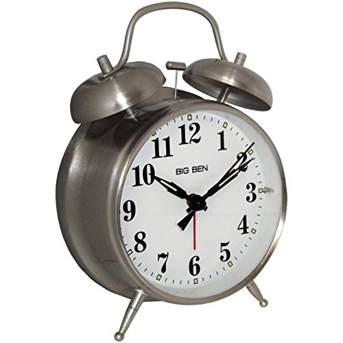 "Big Ben 4 1/2"" Twin Bell Alarm clock"