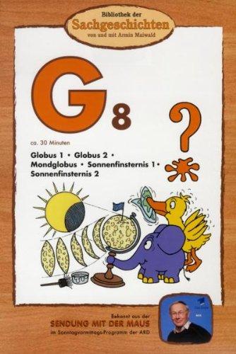 Bibliothek der Sachgeschichten - (G8) Globus, Mondglobus, Sonnenfinsternis