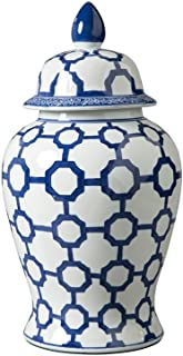 Signature Design by Ashley Dionyhsius Porcelain Jar, Blue/White