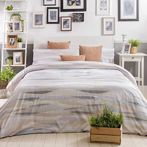 Sancarlos påslakan säng 90 cm krämfärgad