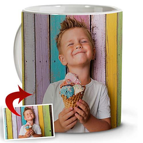 LolaPix Tazas Personalizadas con Foto. Regalos Personalizados con Foto. Taza Personalizada Barata de Cerámica.