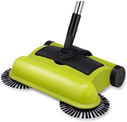 ZTXY Máquina barredora Empuje a Mano Aspiradora doméstica Escoba Suave Juegos de recogedor de Polvo Adecuado para Hotel Familiar