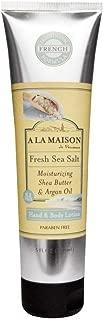 A La Maison Lotion - Fresh Sea Salt - 8 fl oz, silver