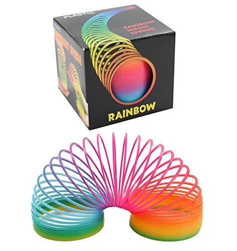 Heinemann 1 x Regenbogenspirale Springspirale Spirale 7,5 cm