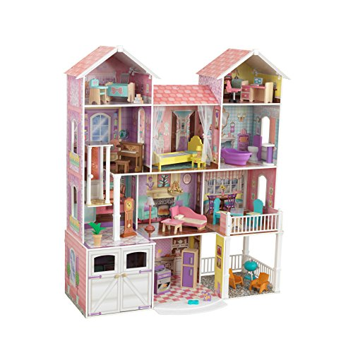 KidKraft Country Estate Wooden Dollhouse Now $75.49 (Was $267)
