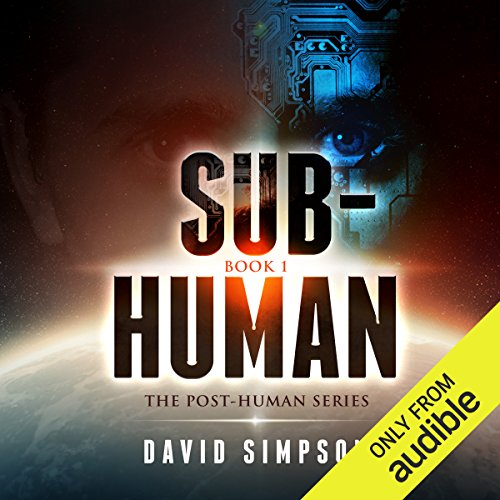 Sub-Human audiobook cover art