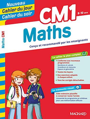CM1 MATHS CAHIER DU JOUR CAHIER DU SOIR