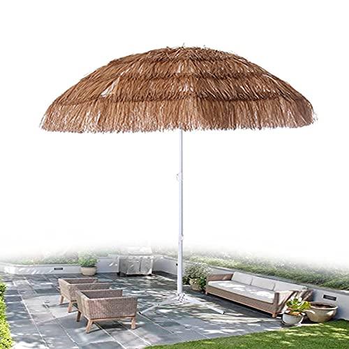 XINGG Parasol Hawaiano Paja De Paja Tiki Paraguas De Fiesta, Paja De Imitación De Playa Parasol De Jardín, Parasol De Jardín Al Aire Libre, para Sombrillas De Jardín, Piscina, Patio