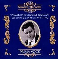 Leoncavallo: Pagliacci/Mascagni: Cavalleria Rusticana by Mascagni (1994-05-03)