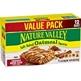 Nature Valley Soft-Baked Oatmeal Squares, Cinnamon Brown Sugar, 12 ct, 14.88 oz