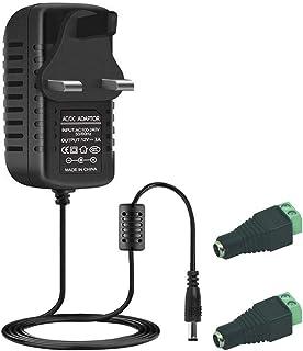 mod/èle am/él Noir entr/ée 230/V Sortie 3/4,5/6/7,5/9/12/V DC stabilis/ée Chargeur Bloc dAlimentation Universel avec diff/érents adaptateurs pour appareils jusqu/à 2250/mA