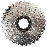 Shimano Kassette - Cassete / piñones para bicicletas (8 velocidades), color gris, talla 11-30
