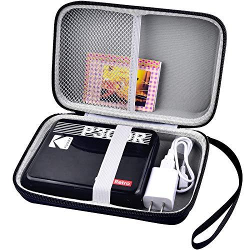 Schwerer Koffer für Kodak Mini 3 retro / Kodak komplett neue Mini Aufnahmen 3 Quadrat / Kodak Mini geschossen 3 retro Portable Wireless Instant Kamera & Foto-Black (Tasche nur)