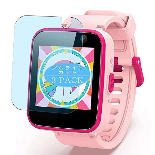 VacFun 3 Piezas Filtro Luz Azul Protector de Pantalla, compatible con AGPTEK CT-W20 smartwatch Smart Watch, Screen Protector Película Protectora(Not Cristal Templado)