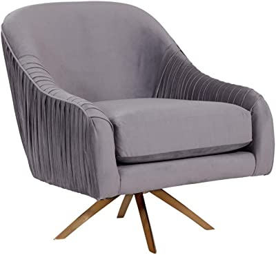 Amazon.com: Serta Nina Accent Chair, Charcoal: Kitchen & Dining