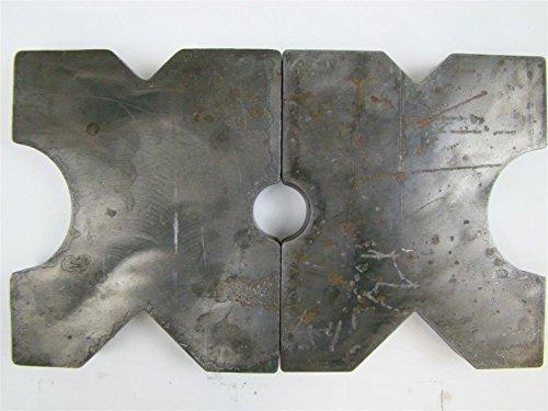 (PAIR) 8.5x10 Arbor Plates 1.5