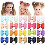 Haarspangen für Babys, Mädchen, 5 cm, Ripsband, Schleifen, Haarspangen für Mädchen, Teenager, Kinder, Babies, Kleinkinder, 40 Stück
