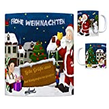 trendaffe - Bad Königshofen im Grabfeld Weihnachtsmann Kaffeebecher