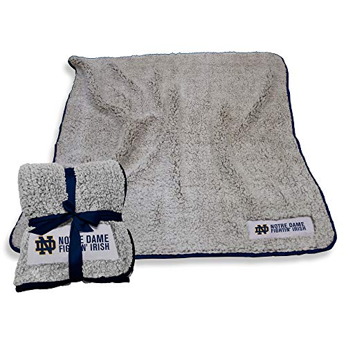 Logo Notre Dame Fighting Irish NCAA Frosty Fleece 60 X 50 Blanket - Team Color