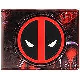 Cartera de Marvel Deadpool Animada anti héroe Multicolor