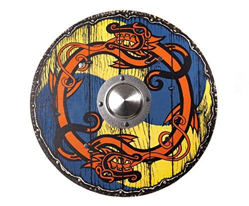 Spielzeugmanufaktur VAH-Rey Cartel de Madera, Color (Wikinger), rund (193)