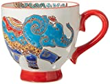 Abbott Collection Sm Elephant Handled Cup-2.25' D(3oz), 2.25 inches in diameter