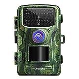 usogood Wildkamera mit Bewegungsmelder Nachtsicht 16MP 1080P Fotofalle Wildtierkamera Infrarot Überwachung mit 940nm LEDs, IP66 wasserdichte, Zeitraffer, 2,4'LCD-Bildschirm für Jagd/Wildbeobachtung