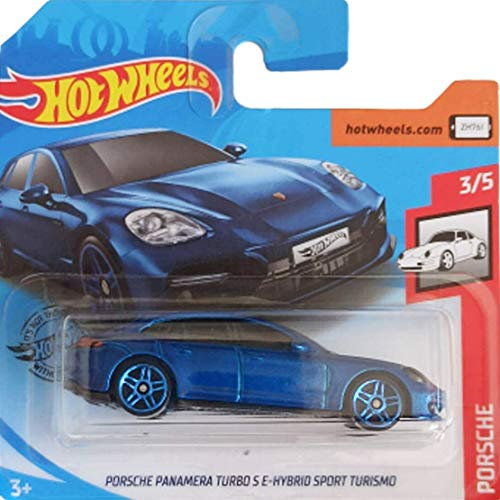 Hot.Wheels Porsche Panamera Turbo S E-Hybrid Sport Turismo - 1:64 - Blau Metallic