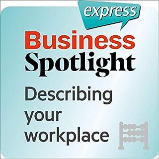 Business Spotlight express - Grundkenntnisse: Wortschatz-Training Business-Englisch - Den Arbeitsplatz beschreiben Titelbild