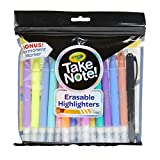 Crayola Take Note 14 Erasable Highlighters & 1 Bonus Permanent Marker, Assorted Colors, Classroom & Office Supplies, Gift