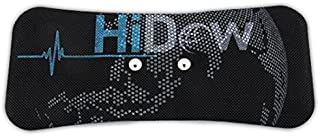HiDow Electrode Gel Pads for Lower Back/Shoulder 3.5 mm TENS Unit STEM and EMS Units