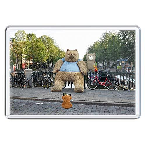 stadtecken magneten 10x7cm +++ Amsterdam motieven: Party-Photo I Holland Nederland | koelkastmagneten I Leven & Momenten grappig I Whiteboard I Souvenir I Gift I Geschenkidee
