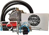 Hutch Mountain Compatible with Honda EU3000is Natural Gas, Propane, Gasoline tri Fuel Conversion kit eui